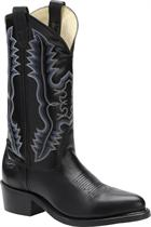 Double H Boot 12 Inch Steel Toe Dress Western Black Trek