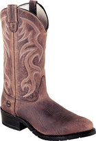 Double H Boot 12 Inch AG7 Work Western Brown