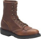 Double H Boot 8 Inch Work Lacer Lite Tobacco