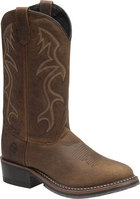 Double H Boot 12 Inch Black ICE Western Medium Brown