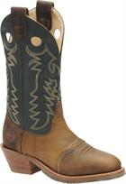 Double H Boot Men's Domestic Buckaroo Medium Brown