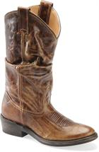 Double H Boot Casual Western Slouch  Medium Brown