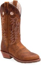 Double H Boot 12 Inch UltraGel ICE™ Buckaroo Medium Brown