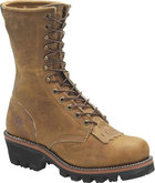 Double H Boot 10 Inch Logger Brown