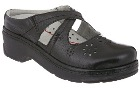 Klogs USA Carolina Black Crinkle Patent
