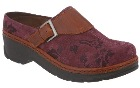 Klogs USA Austin Plum Suede Tapestry