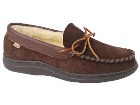 L.B. Evans        Atlin Slipper Chocolate/Boa