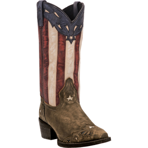 Stars  Stripes Leather Laredo Keyes