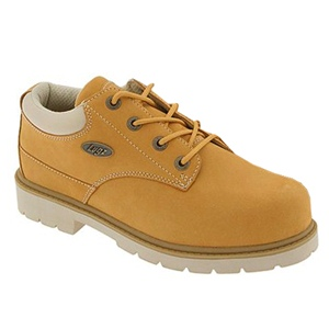 Lugz Drifter Lo Steel Toe EEE Wheat/Cream