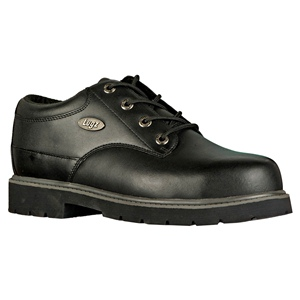 Lugz Drifter Lo Steel Toe Black