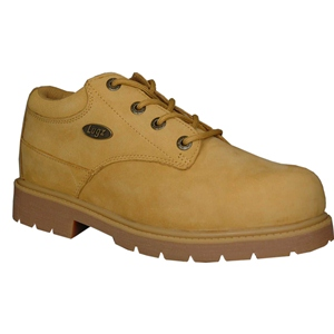 Lugz Drifter Lo Steel Toe Wheat