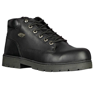 Lugz Drifter Steel Toe Black