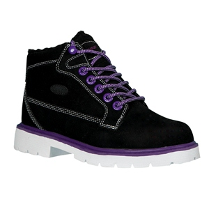 Lugz Brigade Fleece Black/Pitch Purple