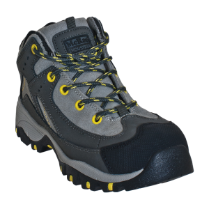 Dark Gray/Light Gray McRae Mid Height Steel Toe Hiker