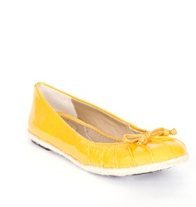 Me Too Hailey Yellow Patent