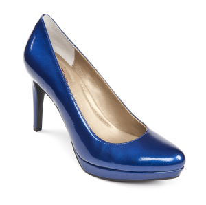 Me Too Holly Cobalt Blue Patent