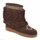 Minnetonka Mukluk Low Dusty Brown