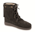 Minnetonka Pile Lined Tamper Boot Black
