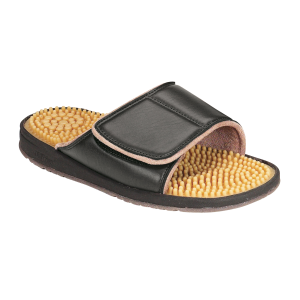 Black Nothinz Beachcomber Massage Sandal