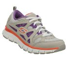 Skechers Flex Fit - Free Throw Purple/Gray