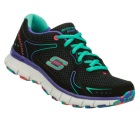 Skechers Flex Fit - Fade Away GreenBlack
