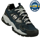 Skechers Sparta  Extra Wide Navy/Black