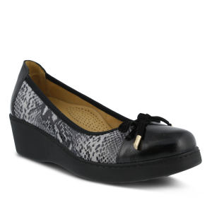 Black Multi Python Spring Step Alika