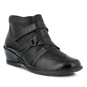 Black Patent Spring Step Allegra