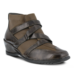 Brown Patent Spring Step Allegra