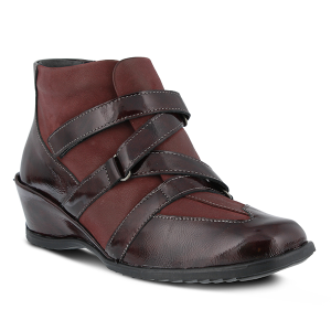 Bordeaux Patent Spring Step Allegra