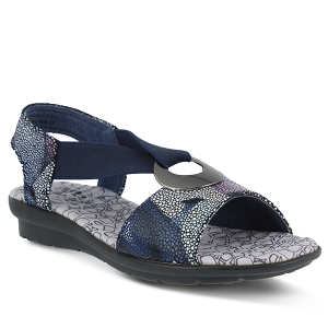 Navy Multi Spring Step Crespo