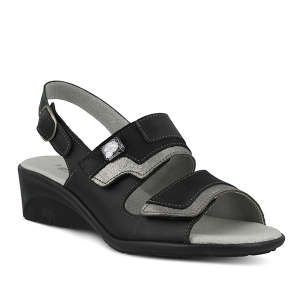 Black Multi Spring Step Faison