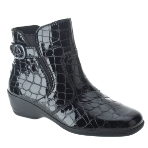 Black Croco Spring Step Jacey II