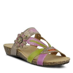 GRAY MULTI Spring Step Wilma