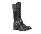 Timberland Bethel Buckle Mid Lace Boot Black