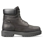 Timberland 6 In Steel Toe Black