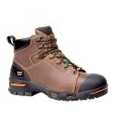 Timberland Endurance 6 Inch Steel Toe Waterproof Workboot Brown