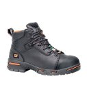 Timberland Endurance 6 Inch Steel Toe Waterproof Workboot  Black