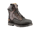 Timberland PowerWelt Waterproof 8 Inch Steel Toe Dark Brown