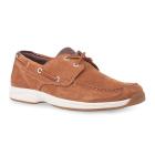 Timberland Hulls Cove 2-Eye Boat Shoe Red Brown Nubuck