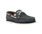 Timberland Canvas 2-Eye Boat Shoe Navy Canvas