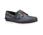 Timberland 2-Eye Boat Shoe Blue