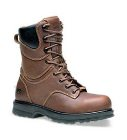 Timberland Rigmaster 8 Inch Safety Toe Waterproof Workboot Brown