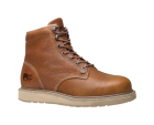 Timberland Barstow Wedge Plain Soft Toe Boot Rust Full-Grain