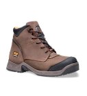 Timberland 6 Inch TiTAN XL Safety Toe Waterproof Workboot Brown