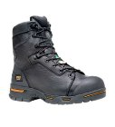 Timberland Endurance 8 Inch Steel Toe Waterproof Workboot Black