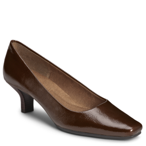 Brown Patent A2 by Aerosoles Dimperial