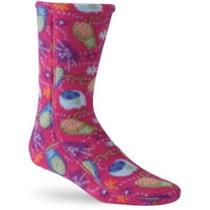 Fat Cat Pink Acorn Versafit Sock Kids