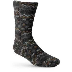 Charcoal Cable Acorn Versafit Sock