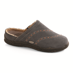 Slate Grey Acorn Wearabout Beaded Clog